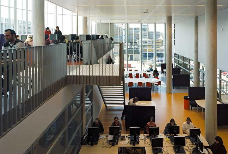 VU OZW onderwijsgebouw, Amsterdam, Jeanne Dekkers